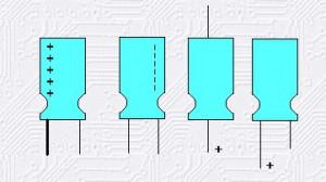 condensador electrolítico de aluminio