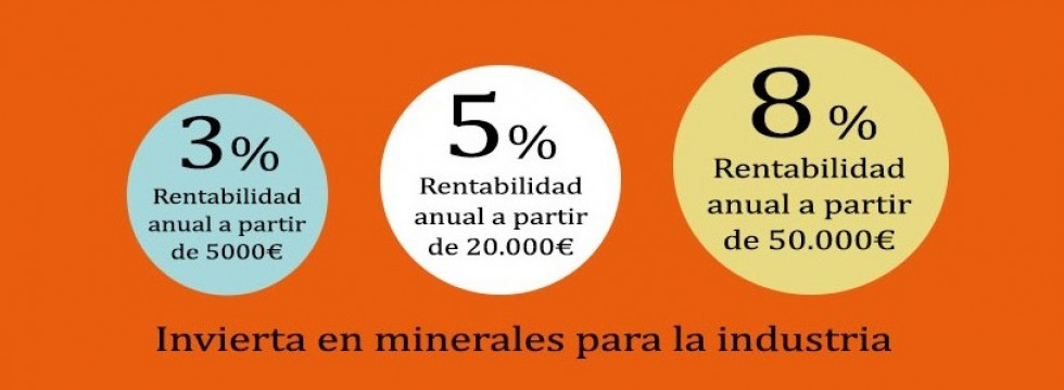 rentabilidad minerales