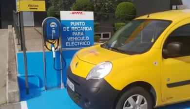 Estación para vehículos eléctricos