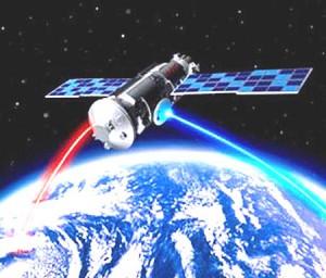 satélite espacial