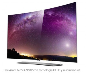 Pantalla-OLED CURVED -TV