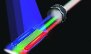 Diodo de Laser blanco