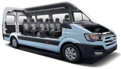 furgoneta ecológica