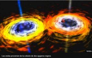 colisión agujeros negros