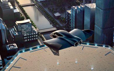 Vehículo volador urbano